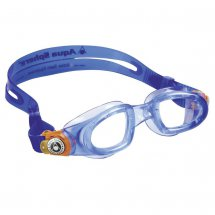 Aqua Sphere Moby Kid blau-orange / transparent