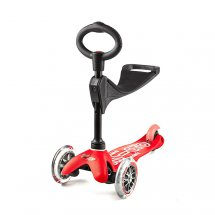 Mini Micro Scooter 3in1 DELUXE rot