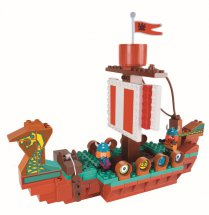 PlayBIG BLOXX WICKIE DRACHENBOOT