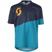 SCOTT Shirt Jr Progressive Pro s/sl hawaii blue/zinnia...