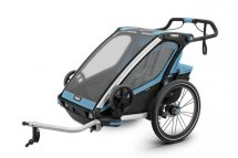 THULE Chariot Sport 2 blue, Modell 2018 inkl. Licht