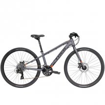 TREK Kids Dual Sport Matte Metallic Charcoal 2017 Boys