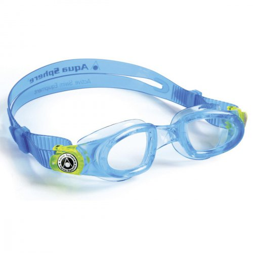 Aqua Sphere Moby Kid blau-lemon / transparent