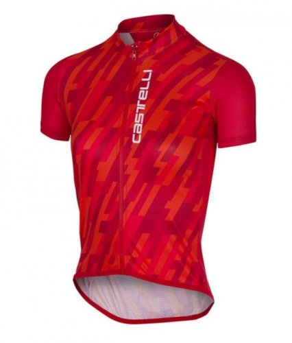 CASTELLI Future Racer KID Jersey rot 10A