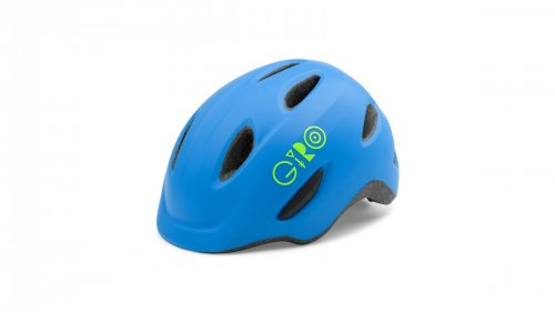 Giro SCAMP mat blue/lime XS
