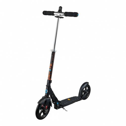 Micro Scooter Black 200mm deluxe