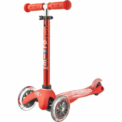 Mini Micro Scooter DELUXE rot