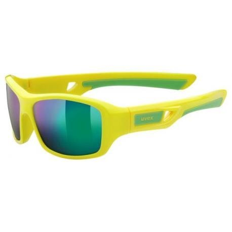 uvex sportstyle 505 yellow/ mirror green (S3)