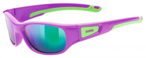 uvex sportstyle 506 pink green/mirror green (S3)